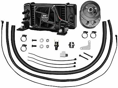 Jagg Oil Coolers -751-FP2300 Horiz Low-Mount 10 Row Fan-Assisted Oil Cooler Kit`