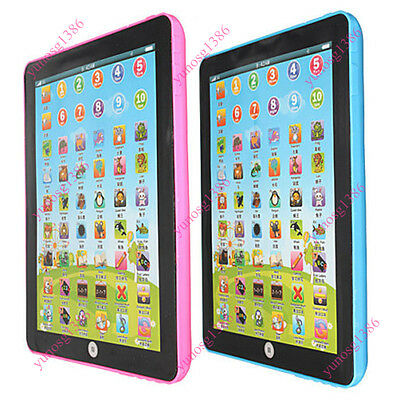 Mini Pad For Children Learning English Educational Computer Tablet Kid Teach Toy