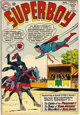 Superboy #103 (Dc) March 1963 - Vg (4.0)