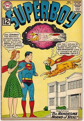 Superboy #101 (Dc) Dec. 1962 - Vg+ (4.5)