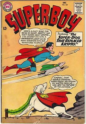 Superboy #109 (Dc) Dec. 1964 - Vg- (3.5)