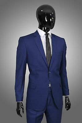 Herrenanzug in Blau - Regular Fit - Anzug Sakko Hose Smoking Suit Business