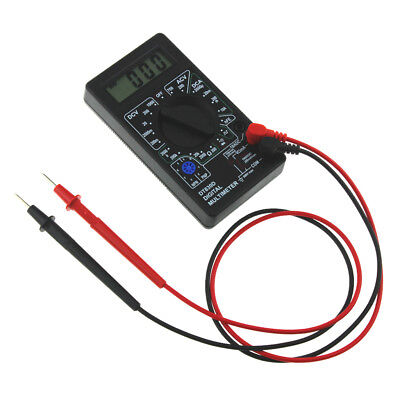 1pc Digital Multimeter with Buzzer Voltage Ampere Meter Test Probe DC AC LCD