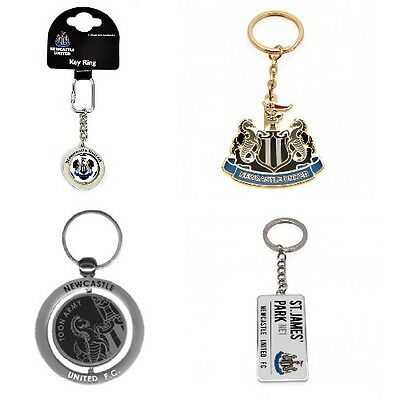 OFFICIAL NEWCASTLE FOOTBALL CLUB - KEYRINGS (Crest,Spinner,Metal KeyRing)