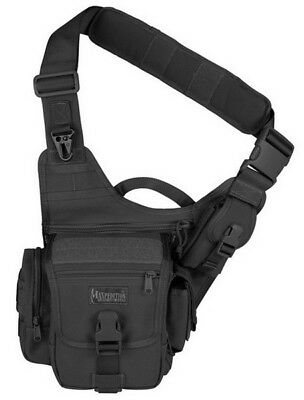 Maxpedition Fatboy Versipack 0403B - BLACK  Single Shoulder Strap Waist Bag