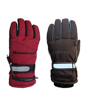 BATTERY HEATED WINTER GLOVES With Double Rechargeable Battery Keep Warm 3hours