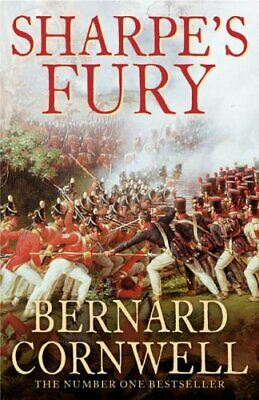 Sharpe's Fury by Cornwell, Bernard Hardback Book The Cheap Fast Free Post