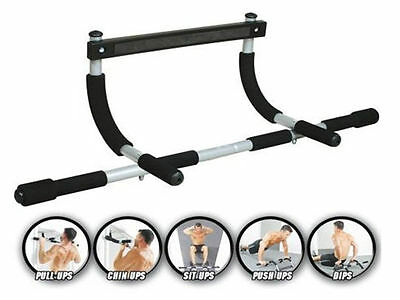 Gym Fitness Chin Up Pull Up Strength Situp Dips Exercise Workout  Door Bar