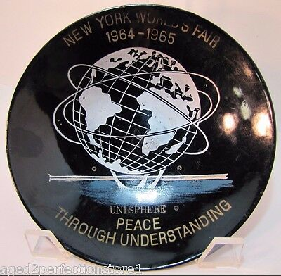 1964-1965 New York World's Fair Unisphere Plate Bowl NYWF Peace Understanding