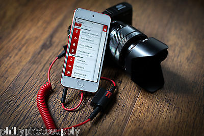 TriggerTrap Canon Rebel - Trigger your camera from your iOS or Android device