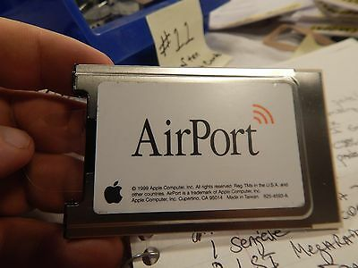 Apple 825-4593-A  Airport Cards WiFi for G3/G4 eMac/iBook/iMac
