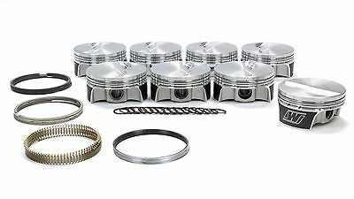 Wiseco K0002X6 Small Block Chevy Strutted Flat Top Piston Set 4.060 Bore -5.77CC