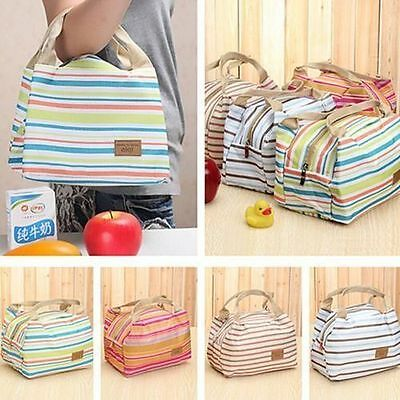 Insulated Tinfoil Cooler Thermal Picnic Lunch Bag Waterproof Travel Carry Tote