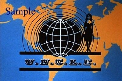 1960s Girl from UNCLE TV Show logo magnet - new!