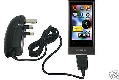 Mains Charger For UK Samsung YP-P3 MP3 MP4 Player P3