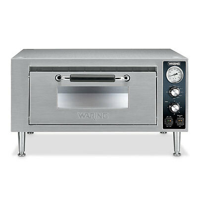 Waring WPO500 Commercial Single Deck Countertop Pizza Oven 1 Year Warranty