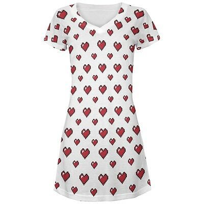 5ab8616cf GEOMETRIC MOUNTAINS ALL Over Juniors Beach Cover Up Dress - $24.00 ...