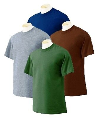 f7ee24c6ab76 12 pc Fruit of Loom Men Short Sleeve Solid Color Blank Tshirt Size M-4X