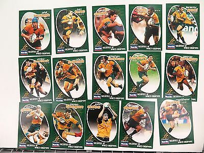 Vintage Set Weet-Bix Wallabies Breakfast Of World Champions. Full Set 15 Cards