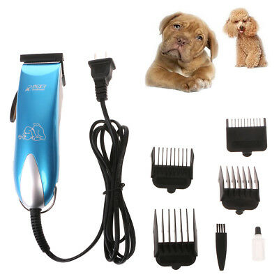 New Animal Pet Dog Electric Low-noise  Cat Hair Razor Grooming Clipper Trimmer