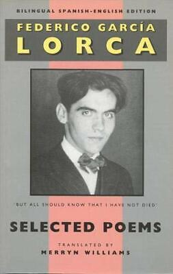 Selected Poems by Garcia Lorca, Federico Paperback Book The Cheap Fast Free Post