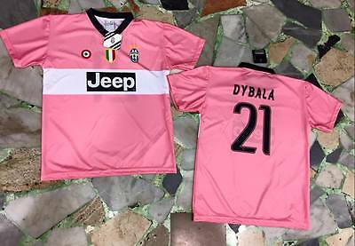 5c91cdf0a3 maglia juventus ufficiale DYBALA 21 15/2016 official JERSEY juve AWAY ROSA  PINK
