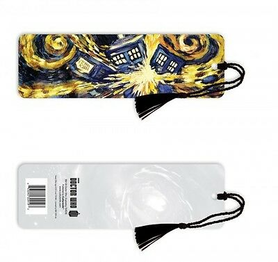 DOCTOR WHO Exploding Tardis Bookmark, by Culturenik