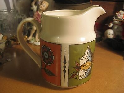 Vintage 1064 Holt Howard Rooster Kitchen Pitcher Serving