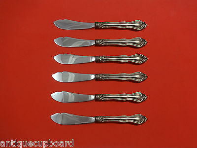 George and Martha by Westmorland Sterling Silver Trout Knife Set 6pc HHWS Custom