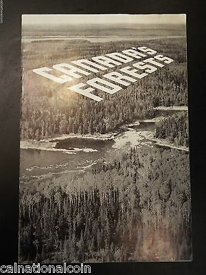 Canada's Forests Vintage Booklet