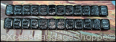 Freight Car Weights - 1/8 Ounce - 24 Self Stick Pieces - Steel (No Lead) N Scale