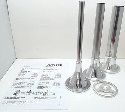 Jupiter Sausage Stuffer Attachment Set for KitchenAid Stand Mixers, 885251