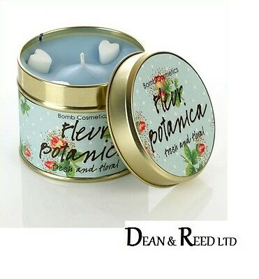 *NEW* Bomb Cosmetics Scented Candle tin - Fleur Botanica