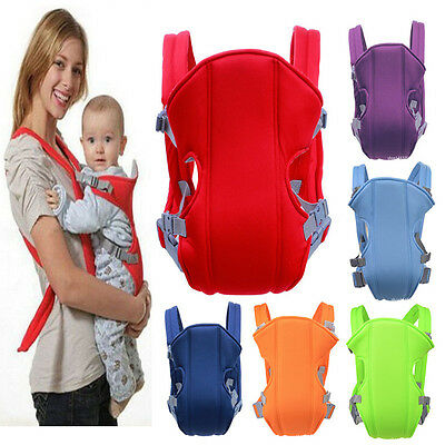 Fashion Newborn Adjustable Carrier Sling Wrap Rider new Baby Breathable Backpack