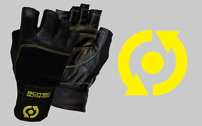 Scitec Nutrition - Guanti Palestra Yellow Leather Style - OFFERTA!!!