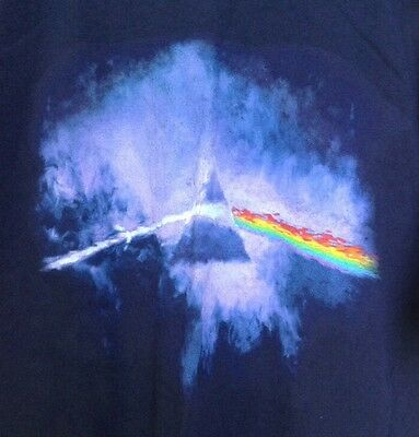 2006 ROGER WATERS DARK SIDE OF THE MOON Tour T-Shirt Size Large  Blue