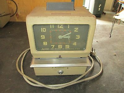 Acroprint Time Clock, Model No.125NR4 BC