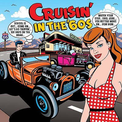 Cruisin' In The '60s VARIOUS ARTISTS Best Of 75 Songs MUSIC COLLECTION New 3 CD