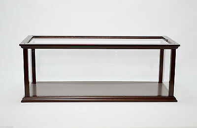"Display Case for Speed Boat 32"" - Wooden Display Case NEW"