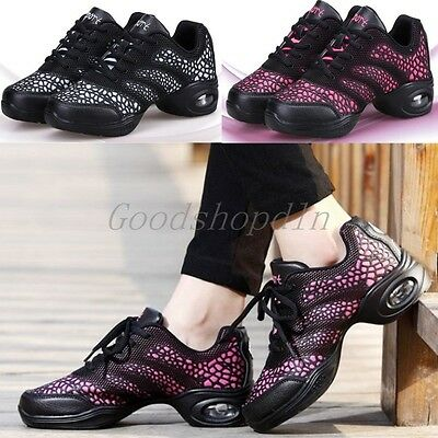 Brand New Hot Women's Jazz Hip Hop Dance Shoes Breathable Sneakers Dancewear 001