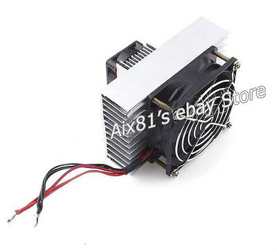 DC12V Semiconductor Peltier Refrigeration Cooling System Kit Pet Air Conditioner