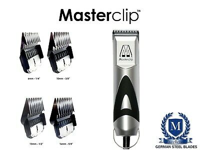 Cavachon Dog Clippers Trimmer Set with 3 blades by Masterclip Professional