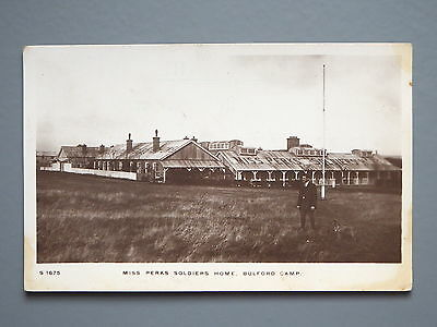 R&L Postcard: Miss Perks Soldiers Home, Bulford Camp, Kingsway