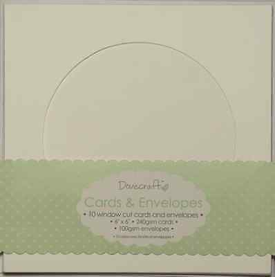 "Dovecraft Circle Window Card 6""x6 Cards & Envelopes"