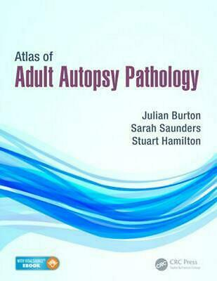 Atlas of Adult Autopsy Pathology by Burton (English) Hardcover Book Free Shippin