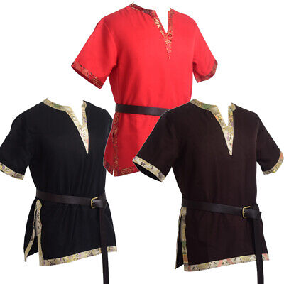 New Medieval Renaissance Tunic LARP Aristocrat Chevalier/ Knight Cosplay Costume