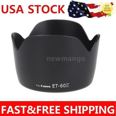 Lens Hood Petal Flower for Canon EF 75-300MM F/4-5.6III EF-S 55-250mm f/4-5.6 IS
