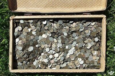 1/2 Pound Lot Ussr Cccp Soviet Russia Kopek Coins 1961-1991 Hammer And Sickle