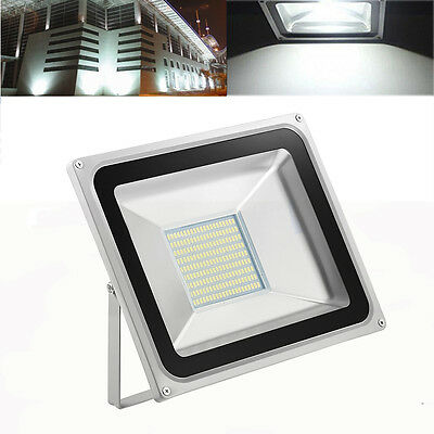 100W Cool White LED SMD Flood Light Outdoor Security Lamp Floodlight 240V IP65
