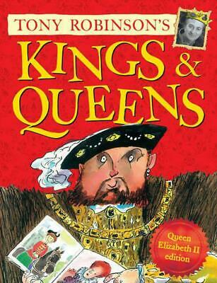Kings and Queens: Queen Elizabeth II Edition by Tony Robinson Paperback Book Fre